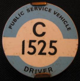 Charabanc_Drivers-PSV_Badge